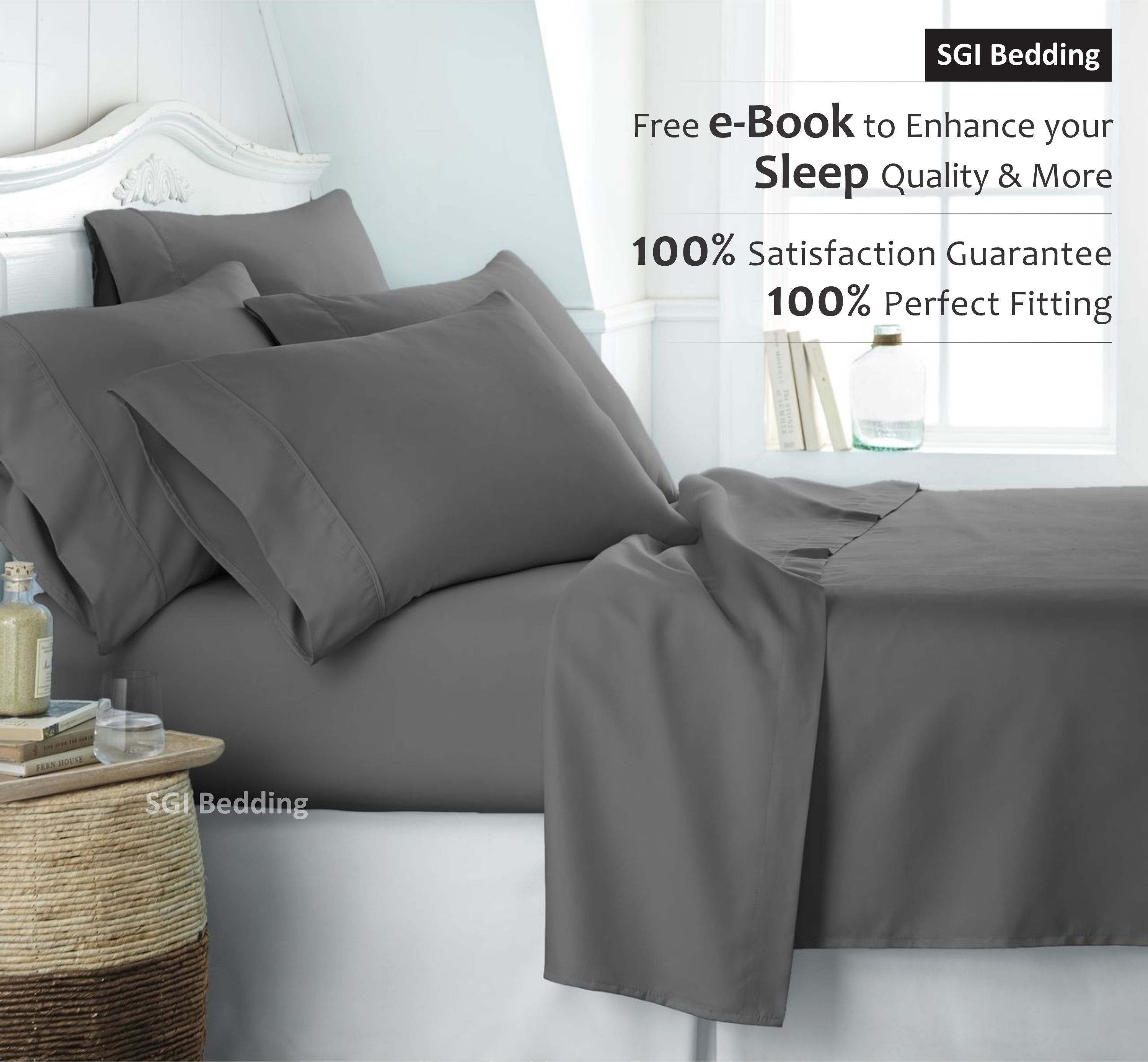 Get perfect sleep with the best queen bed set