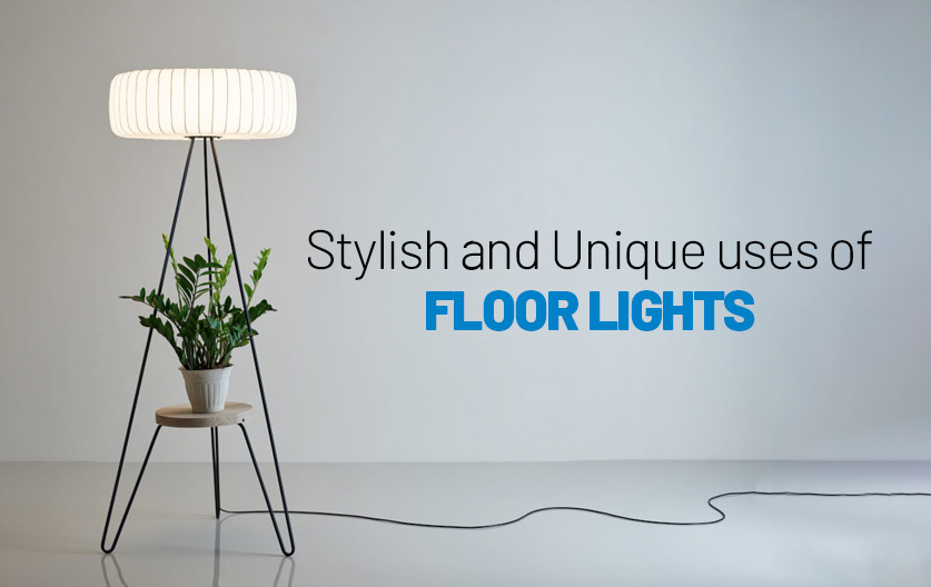 Green floor lamp: how to take full advantage of it