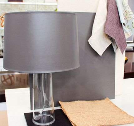Grey lampshade painting tips and tricks – painting lampshades to match any décor in your home