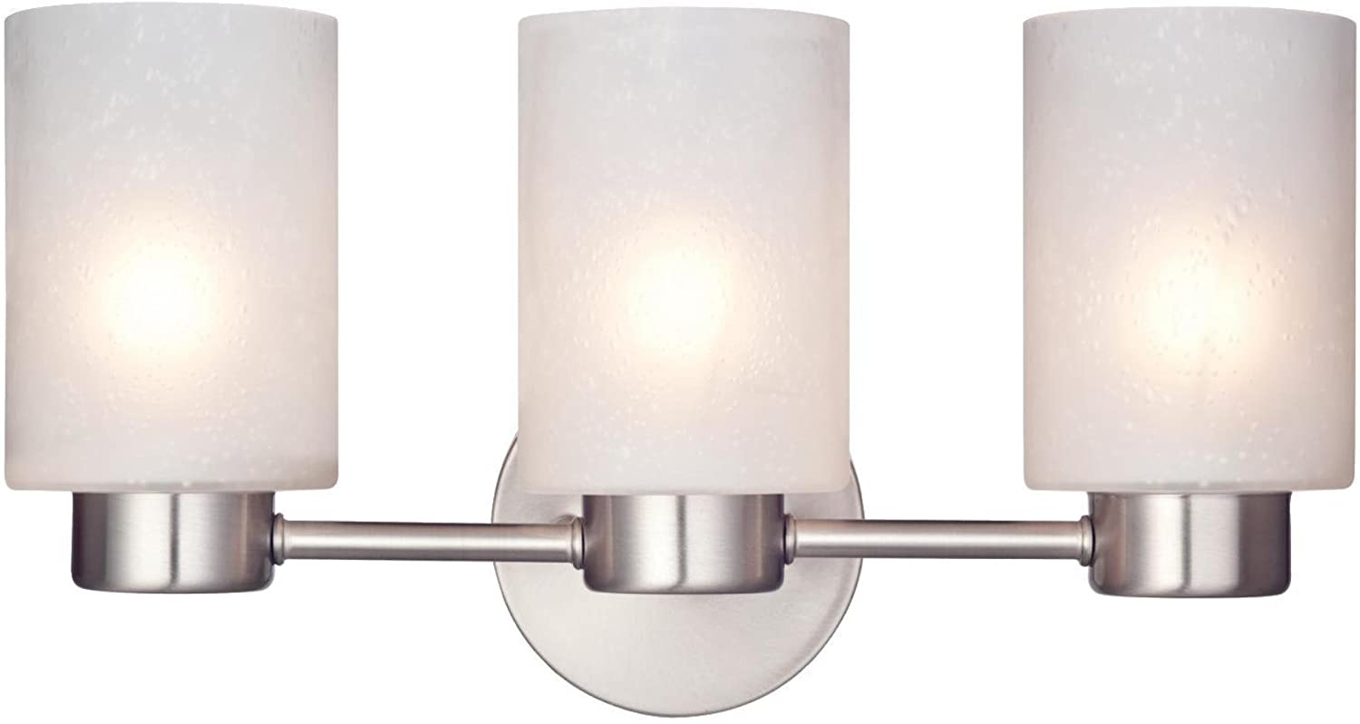 Have well diffused light two light wall sconce