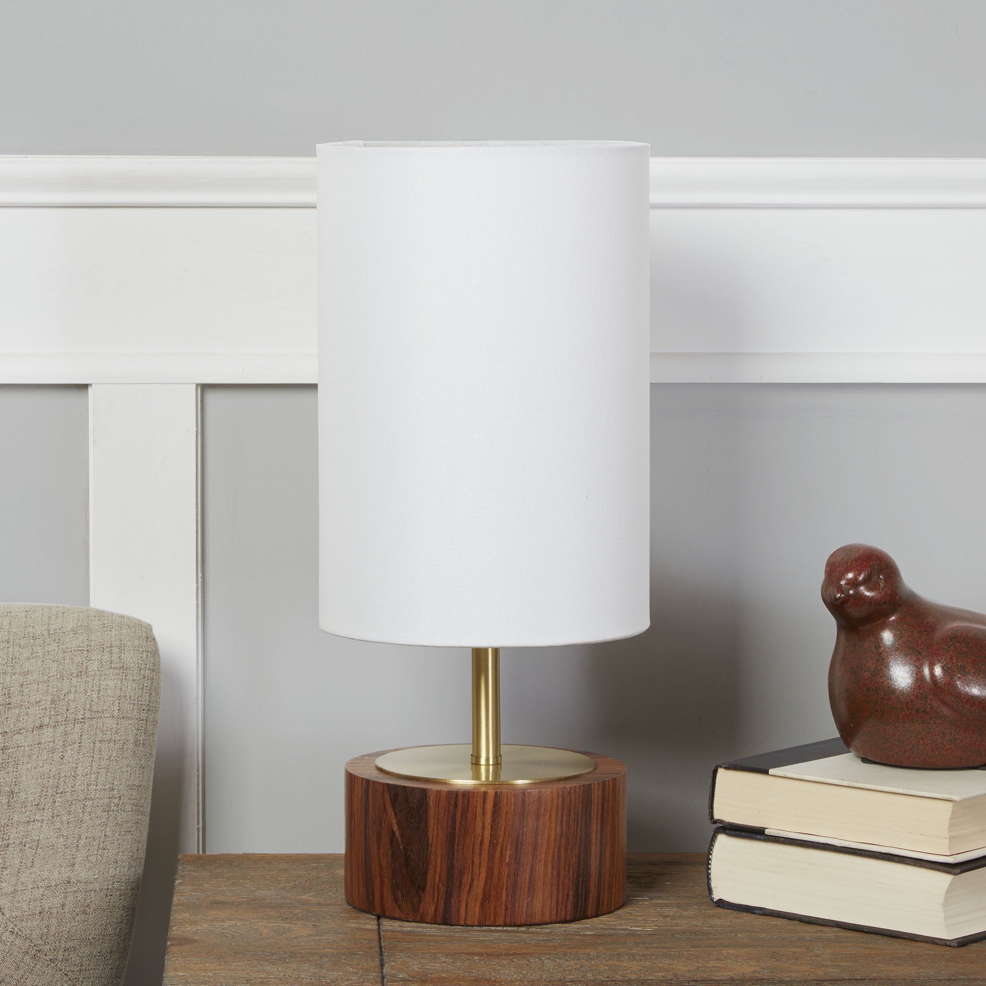 Home decor with touch table lamp