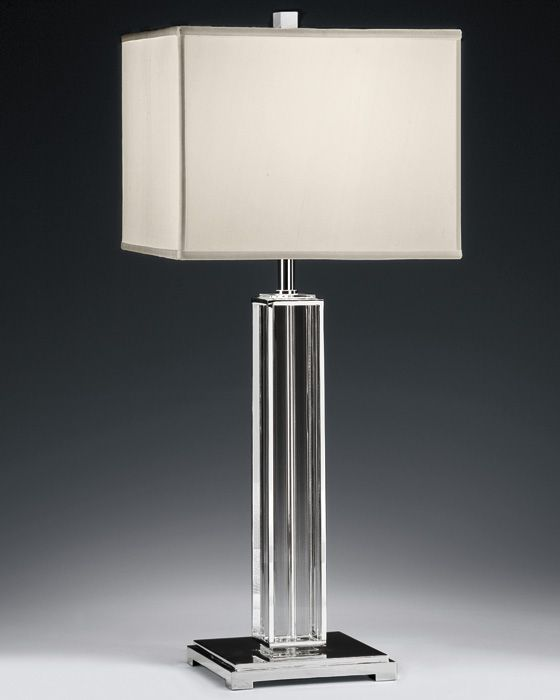 How to pick a nickel table lamp