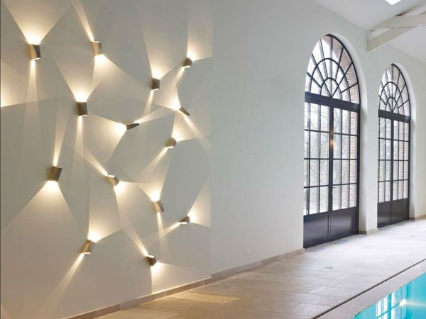 How to place wall lamps for an elegant interior
