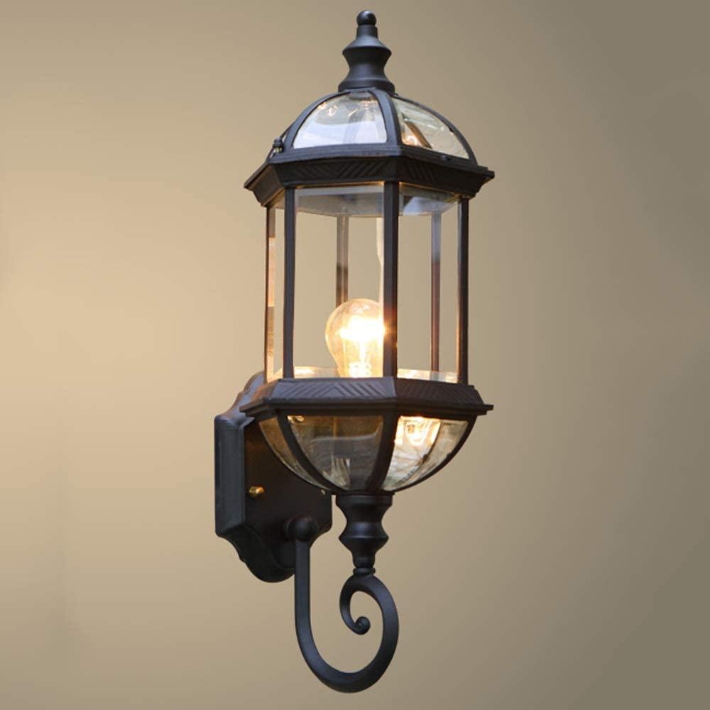 Lantern outdoor lighting safely
