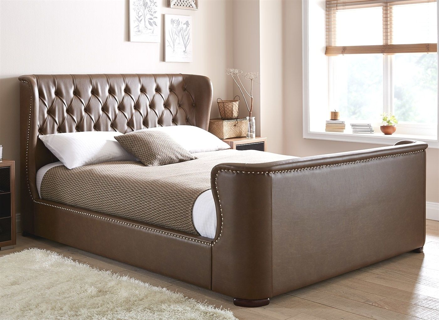 leather bed sheets design 2019