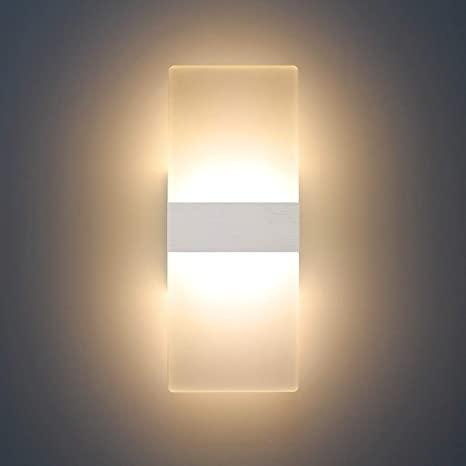 LED bathroom wall lamps