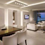 LED luminaires for houses