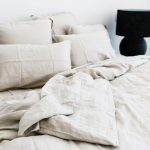 Linen bedding- they make all the difference