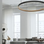 Modern chandelier can change your living space