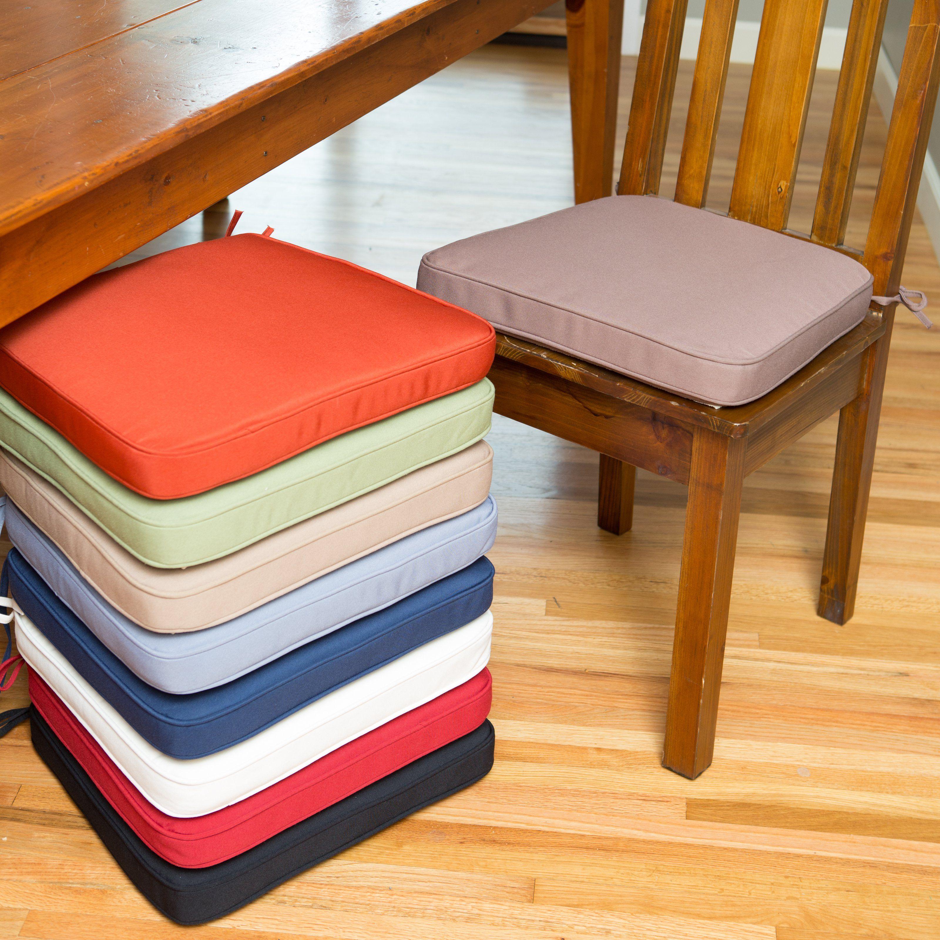 modern kitchen chair seat cushions