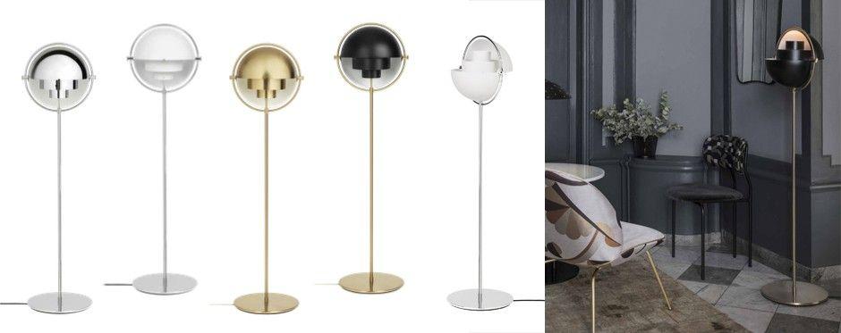 Multi-light floor lamp