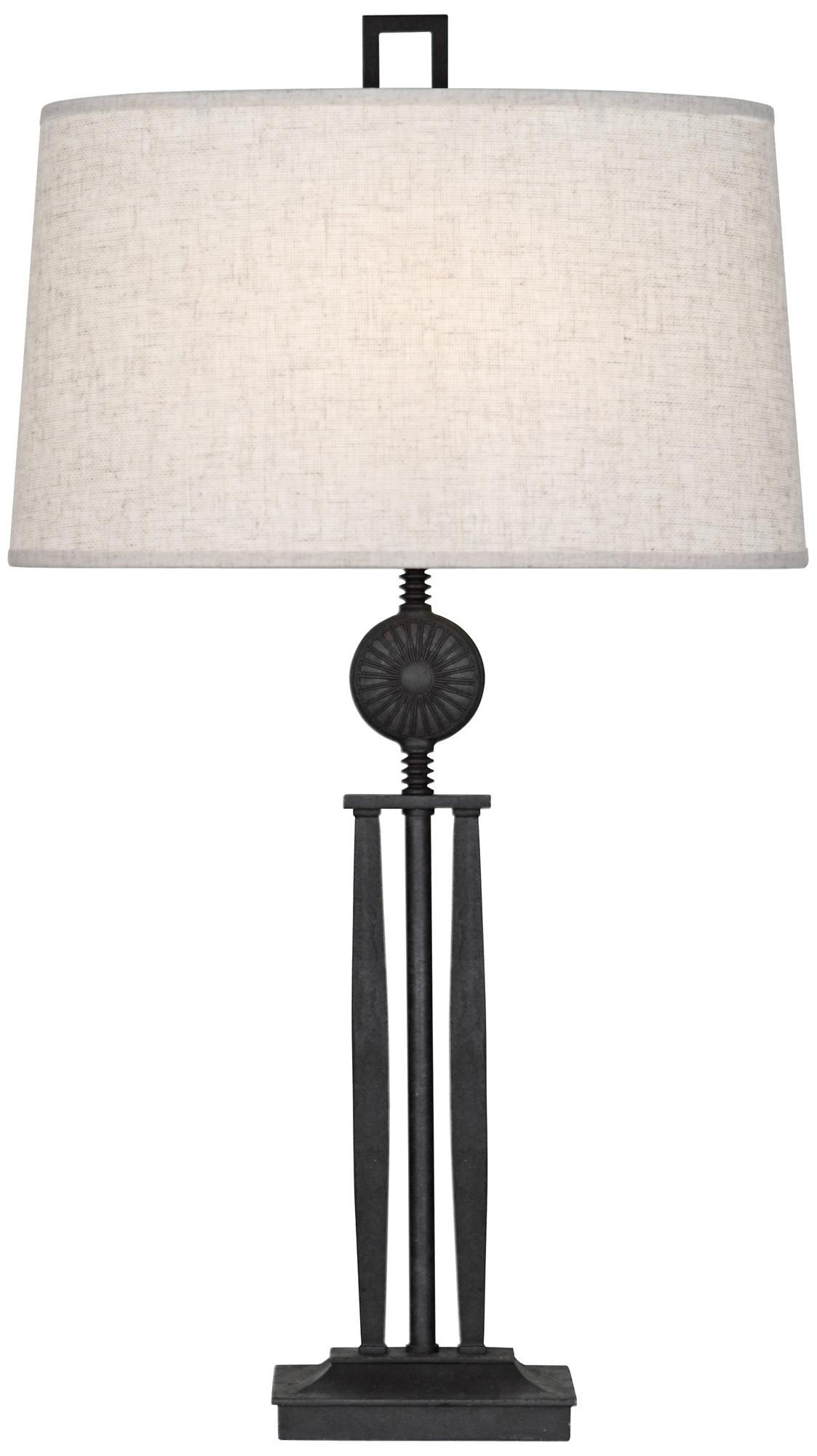 New table lamps in wrought iron