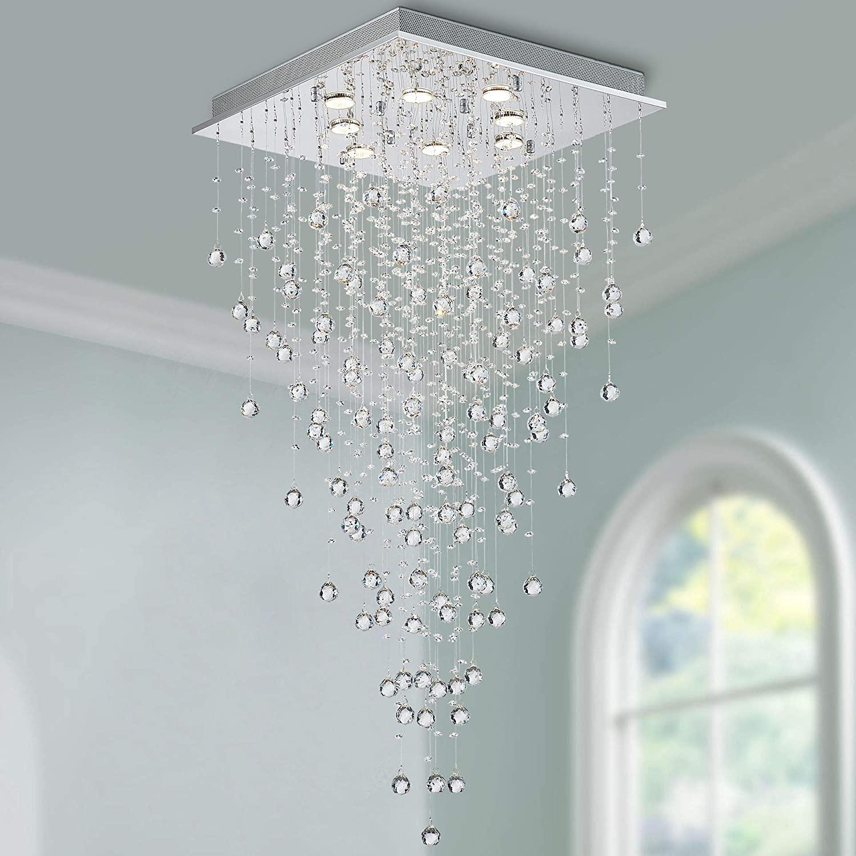Overall chandelier lighting