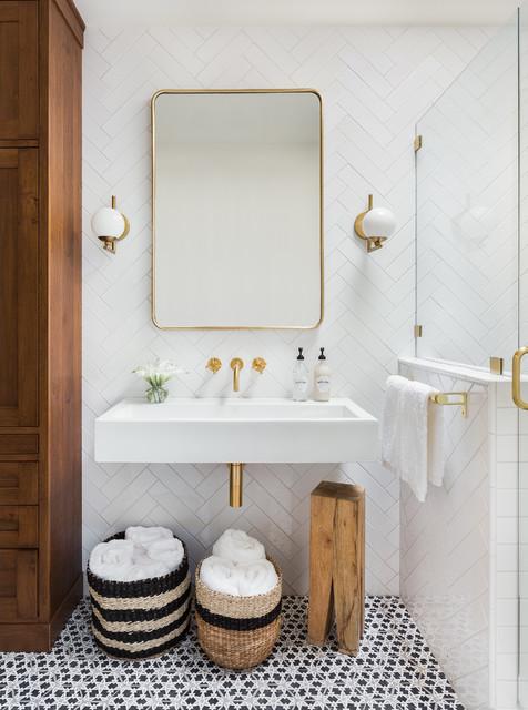Proper modern bathroom vanity lighting techniques