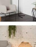 rattan floor lamp decor ideas