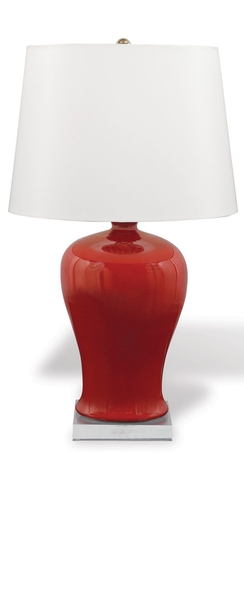 Red table lamp for your room