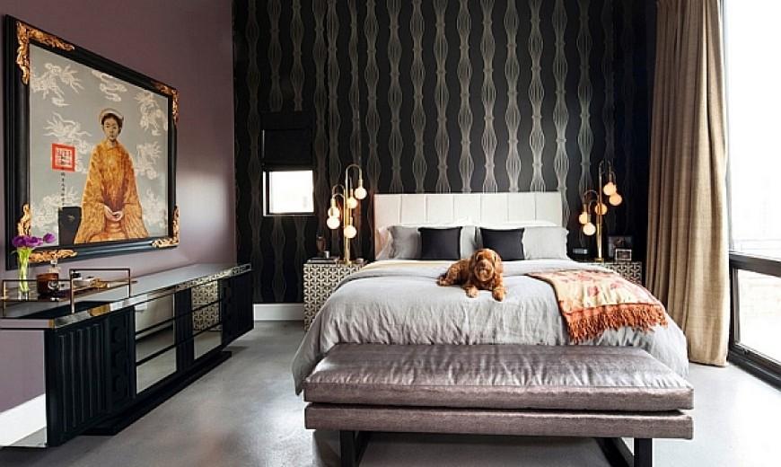 right bedroom lighting