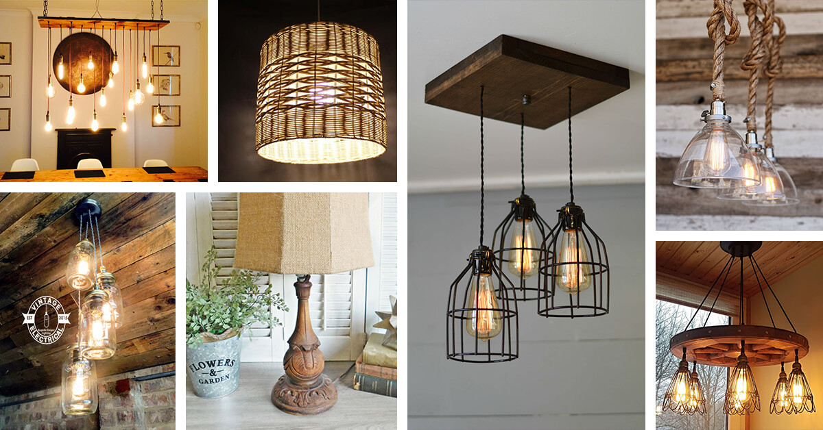 Rustic lighting – the best option for any home