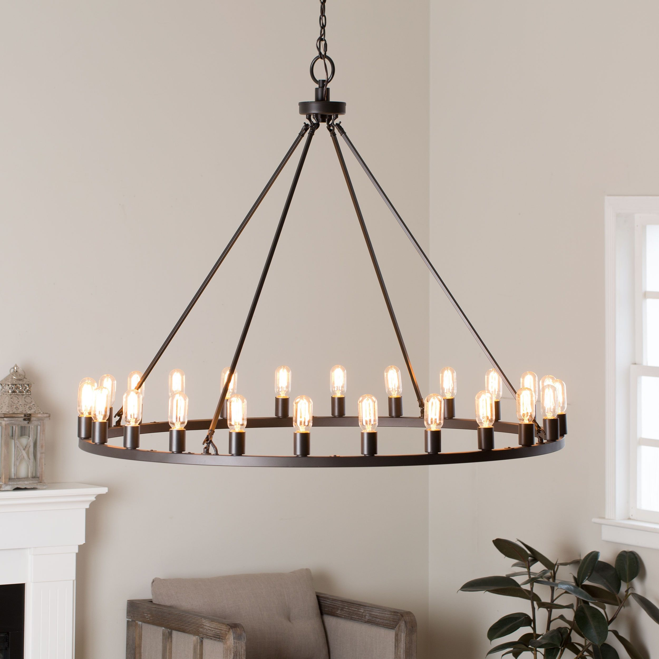 Shopping for a rustic chandelier