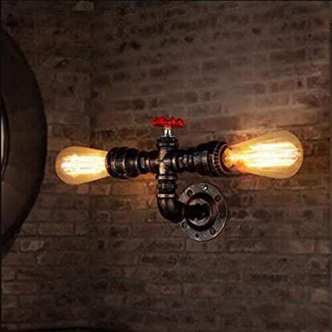 Steampunk wall lamp