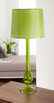 Styles in green table lamps