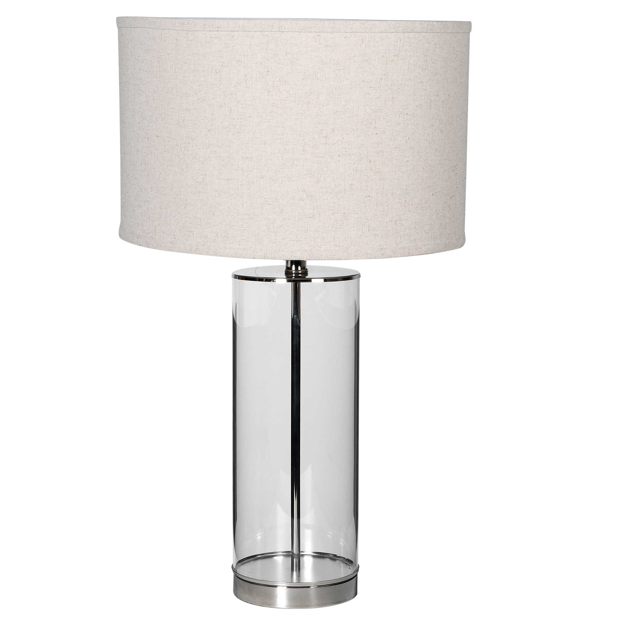 Table lamps in glass