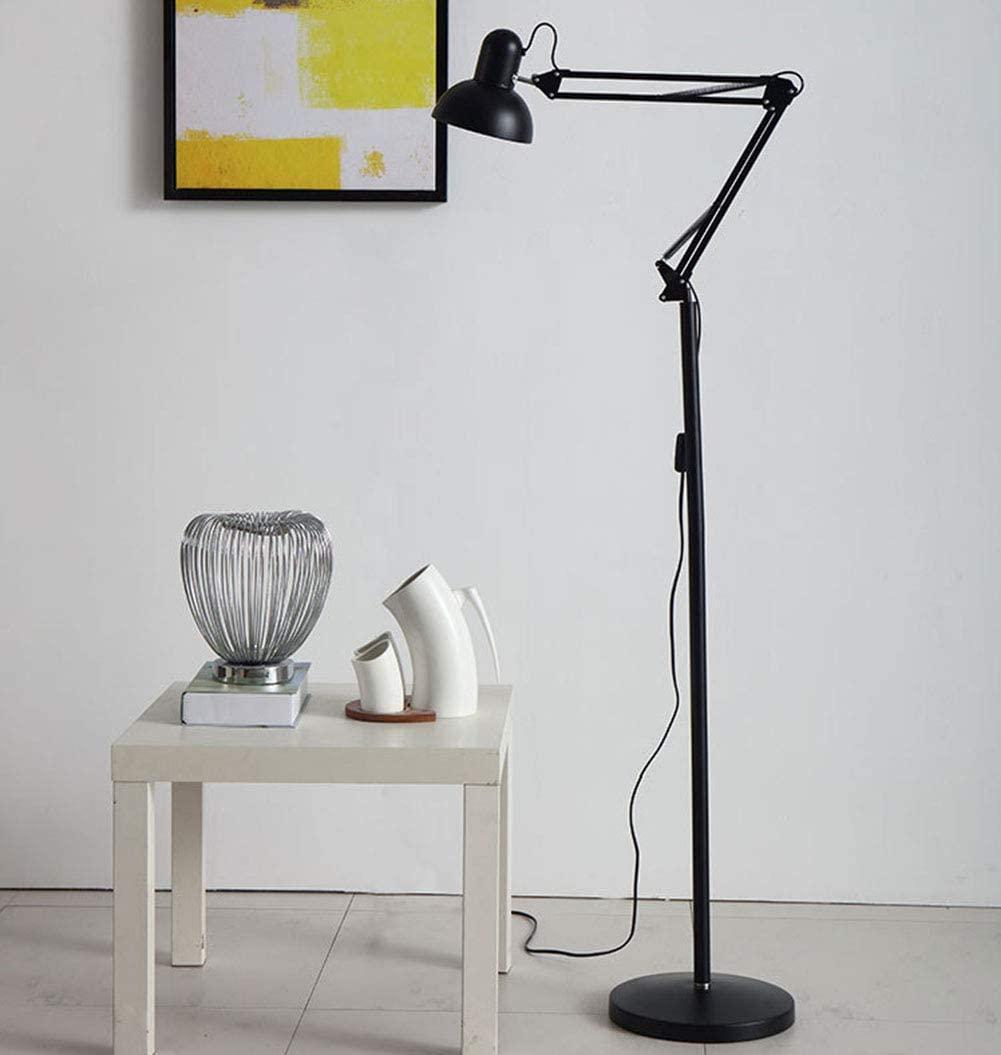 Task floor lamp for reading