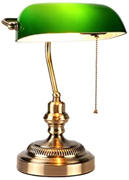 Traditional desk lamp