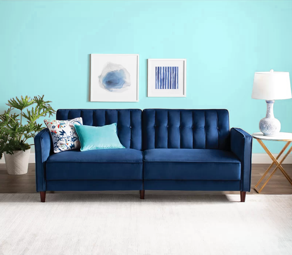Types of convertible sofas