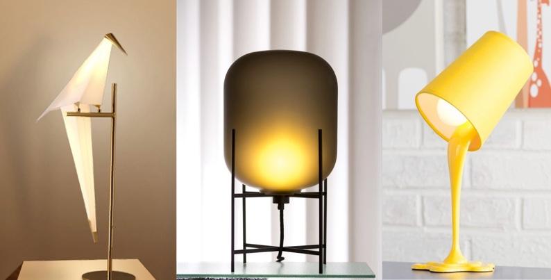 Unique bedside lamps