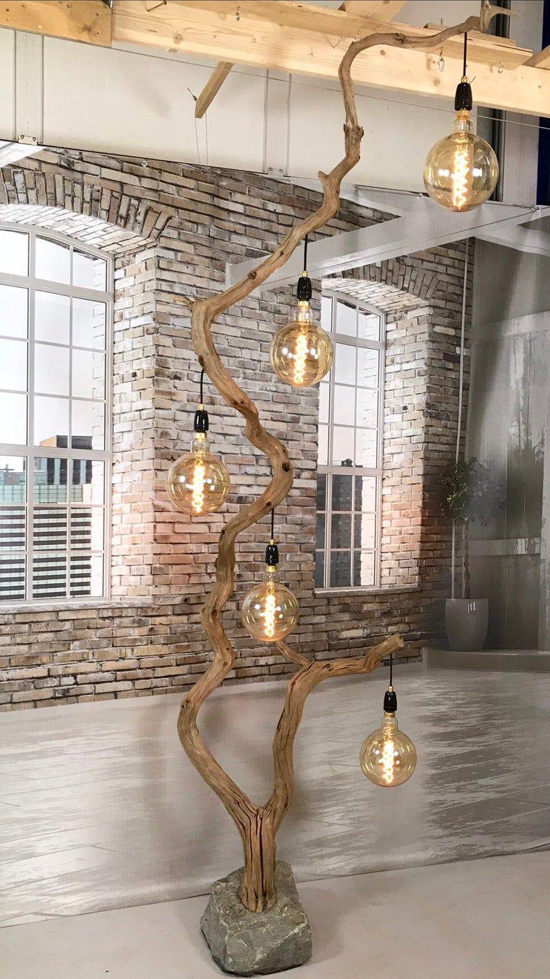 Unique floor lamp