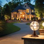 Various kichler outdoor lighting for your home
