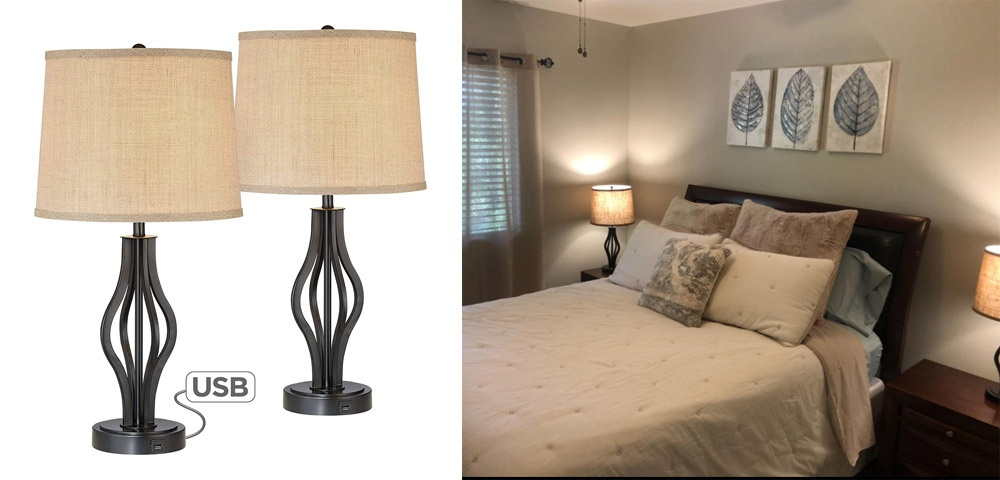 Weight and properties of bedside lamps