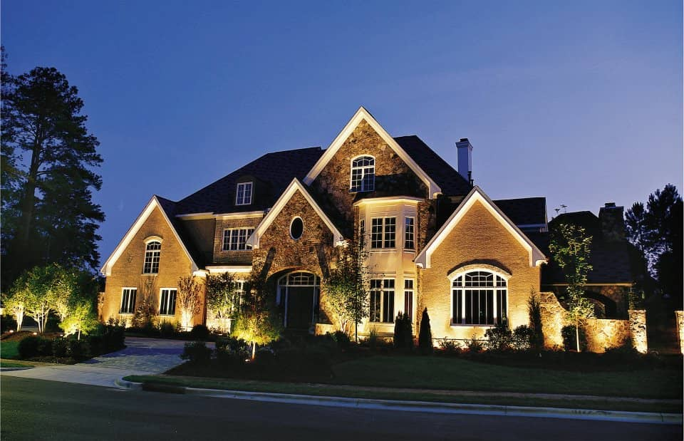 Why do you choose outdoor luminaires at home?