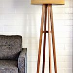 Wooden floor lamps to decorate your home