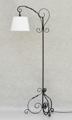 Wrought iron floor lamps